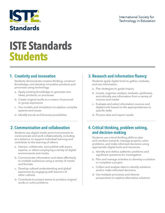 the standards set for students How to set consistent expectations to improve student behavior  insights on how to set consistent student  teacher — just like your academic standards.