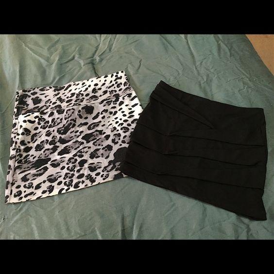 Selling this Cute stretchy skirt bundle in my Poshmark closet! My username is: jadeline. #shopmycloset #poshmark #fashion #shopping #style #forsale #Dresses