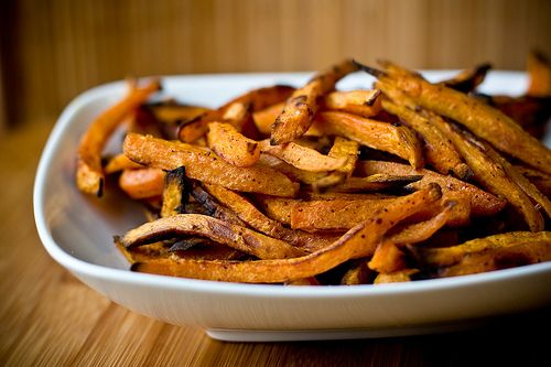 homemade sweet potato fries!