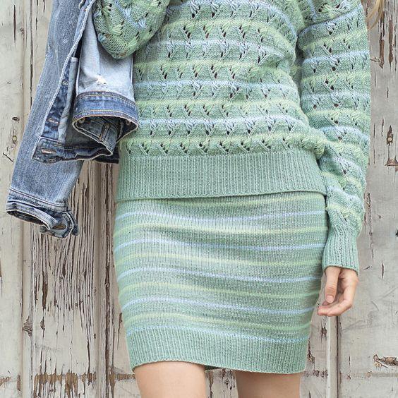Журнал сабрина вязание юбки