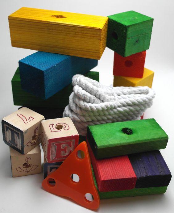 Make Your Own Bird Toys : Pinterest the world s catalog of ideas