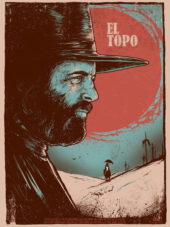 uk artist and all around beast, godmachine tackles el topo.