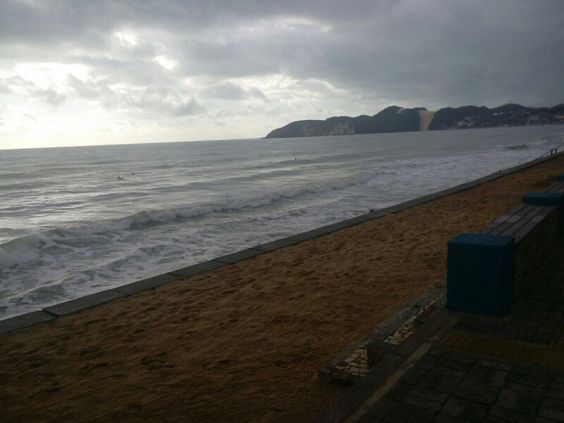 Praia de Ponta Negra em Natal, RN