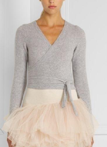 92% off BCBGMaxAzria Sweaters - BCBGMaxAzria Grey Wrap Cardigan ...