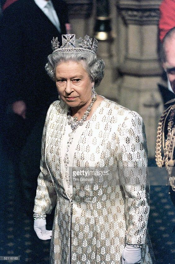 The Queen At The House Of Lords For The State Opening Of Parliament
