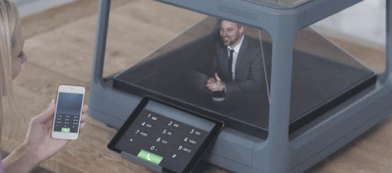 Holus, la boite à hologramme explose son objectif Kickstarter