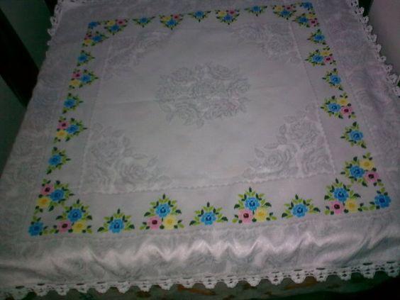 toalhas de mesa artesanais - Pesquisa Google