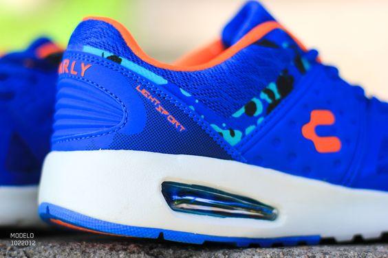 Light Sport Sneakers, Tenis Azules, Tenis Charly