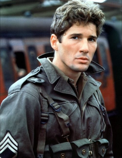 Richard Gere in an officer and a gentlemen