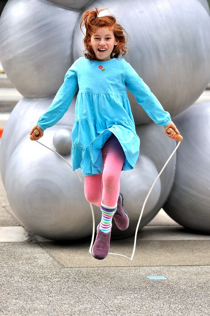 16 Fun Photos of Jumping Rope