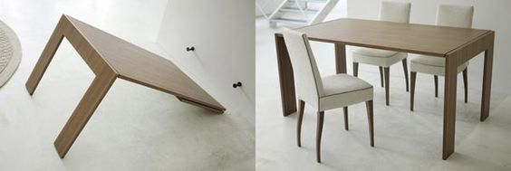 It folds from a mirror into a table. From Porada. Must find where to purchase this.