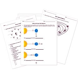 Free Printable Astronomy Tests, Worksheets, and Activities for grades K-12. Printables for tides, planets, the solar system, galaxies, stars, and more!