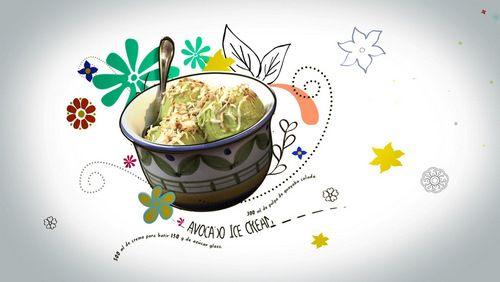 To try... avocado coconut ice cream