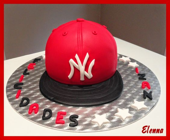 Tarta Gorra New York.