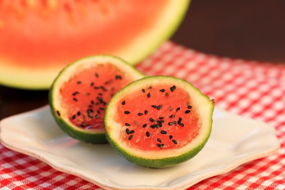 That skinny chick can bake!!!: Watermelon Sorbet...Holiday Recipe Club~
