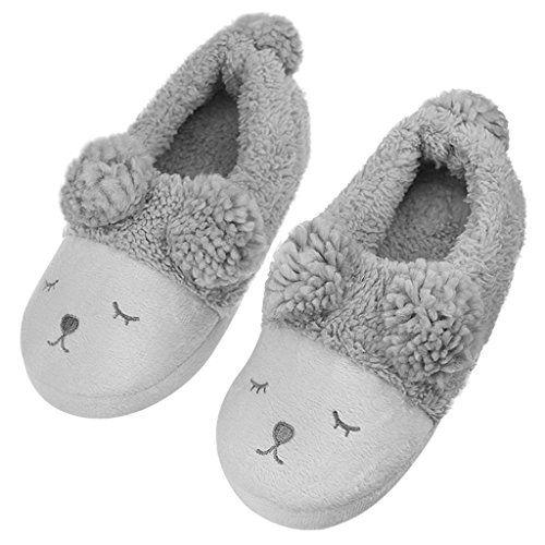 Cushion-Walk Slipper Mule Plush Warm Clogs Slip On Warm Cosy House Shoes