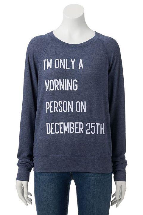 Freeze Juniors' Graphic Print Christmas Sweater, $17.99, kohls.com   - Seventeen.com