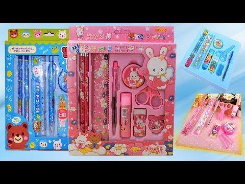 Youtube Stationery Set Fun Organization Hello Kitty Videos