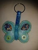 Porta-chaves borboleta