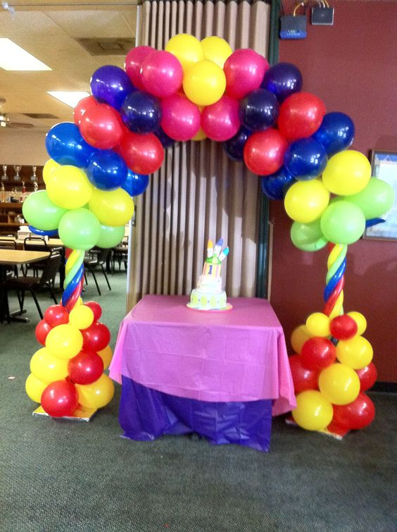 Balloons balloon decorations and quinceanera on pinterest for Balloon decoration ideas for quinceaneras
