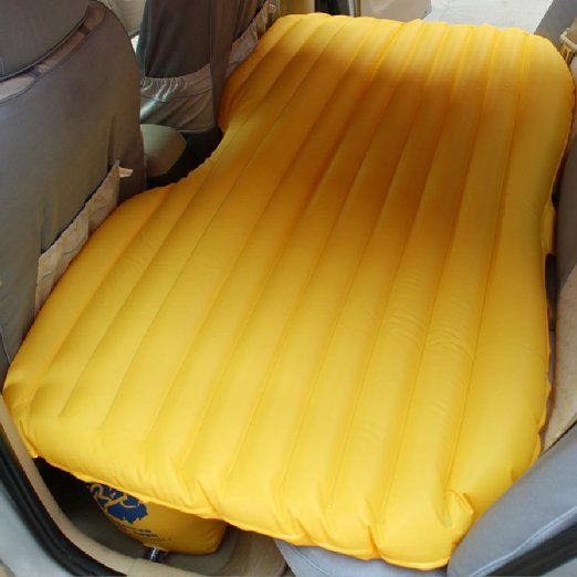 Fuloon® Car PVC Inflatable Airbed Overnighter With Pump For Travelling Tourism Ootdoor Camping Swimming Pool