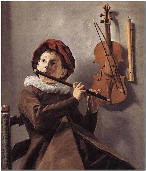 Judith Leyster (1600-1660) Young Flute Player Oil on canvas 1635