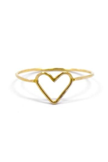 Work your way into someone's heart with this beautiful handmade style in 14k Gold by Fresh Tangerine. www.mooreaseal.com