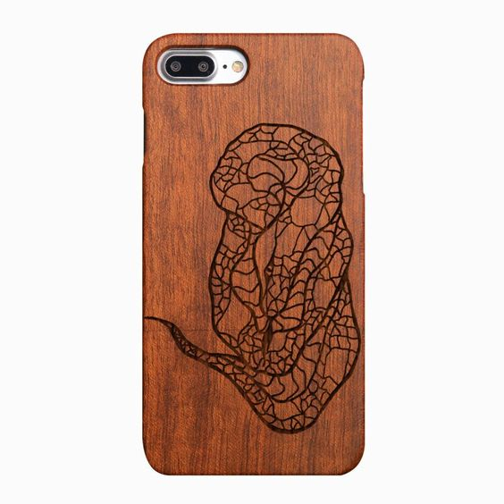 #nature wood totem in phone case#
