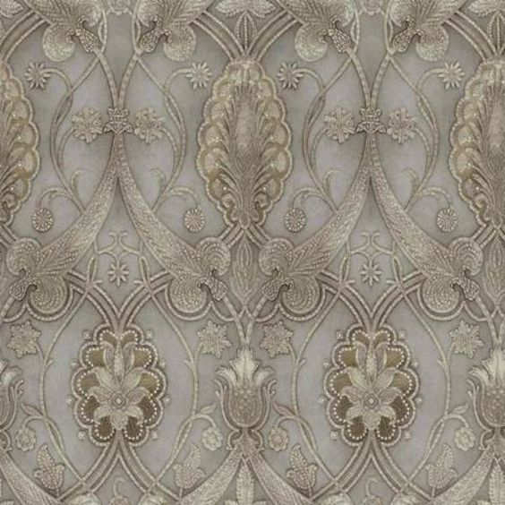 Modern vintage living room ideas - Victorian Wallpaper Victorian And Texture On Pinterest