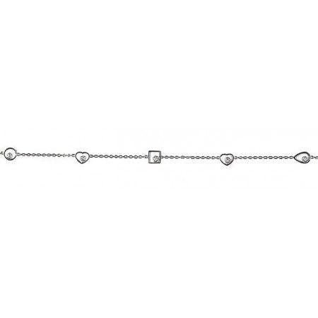 Chopard Bracelet Happy Diamonds La prestigieuse marque Chopard présente sa collection Chopard Bracelet Happy Diamonds et ses différents modèles. Celui-ci est fai...