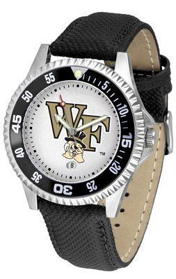 Wake Forest Demon Deacons Suntime Competitor Poly/Leather Band Watch - NCAA College Athletics by SunTime. $58.95. Quality Timepiece for your favorite fan!