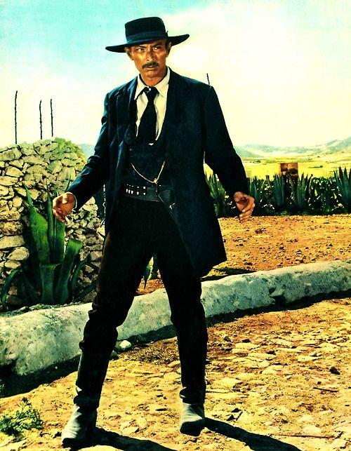 Lee Van Cleef--all time best western villain.