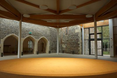 Clare Priory extension now complete with a virtual tour on the website