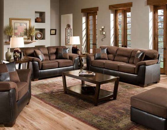 Loveseats Sofas And Chocolate Brown Sofas On Pinterest