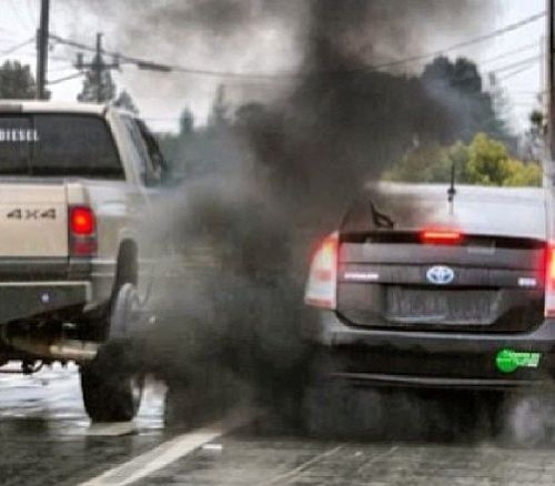 # Rolling Coal On A Prius