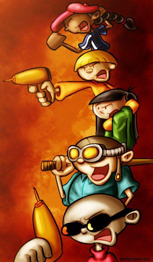 Kids Next Door By Kroizat Cartoon Art Cartoon Wallpaper Old