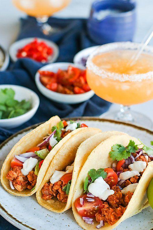 BBQ tempeh tacos — Meal