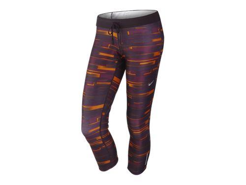 Nike Relay Print - Bordeaux/Total Orange/Matte Silver