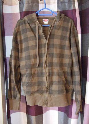 Kaufe meinen Artikel bei #Kleiderkreisel http://www.kleiderkreisel.de/herrenmode/cardigans/108393086-grunkhaki-karierte-moderne-farbige-sweatjacke