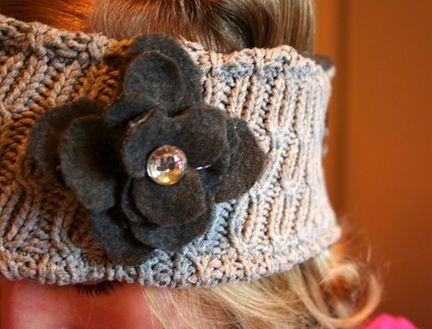 ear warmers: Accessory Ideas, Sweater Headband, Diy Crafts, Sewing Ideas, Sweater Ideas, Sweater Crafts, Craft Ideas