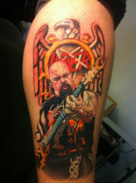 Kerry King | My Tattoo | Pinterest | King