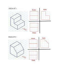 Pin On Vistas Dibujo Tecnico