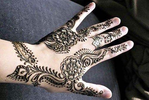 Colorful Punjabi Henna Mehendi Designs 2014 for Eid (6)