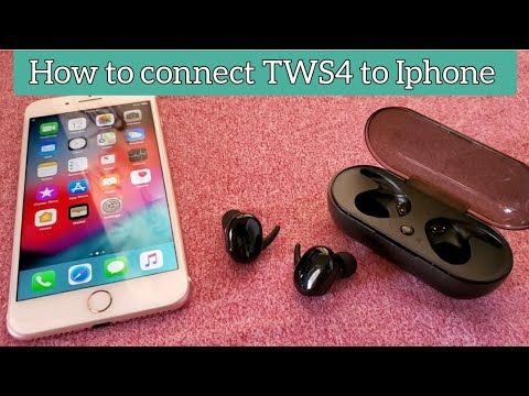 How To Connect Tws4 Wireless Earbuds To Iphone 7 Iphone Iphone 7 Wireless Earbuds