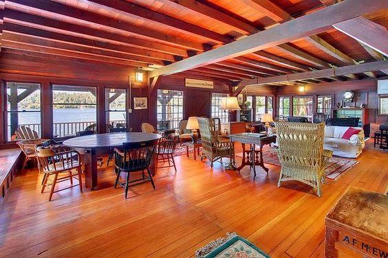 completely open floor plan home dream barn home