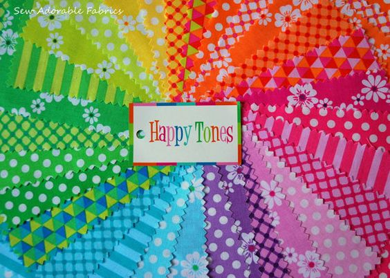 Image result for happy tones fabric jelly roll