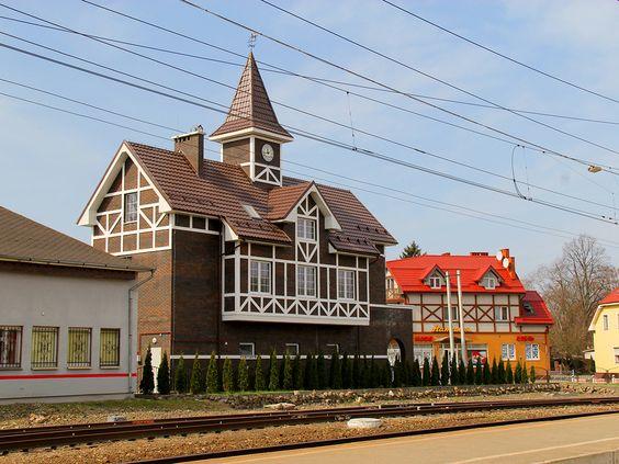 Вокзал в Пионерском