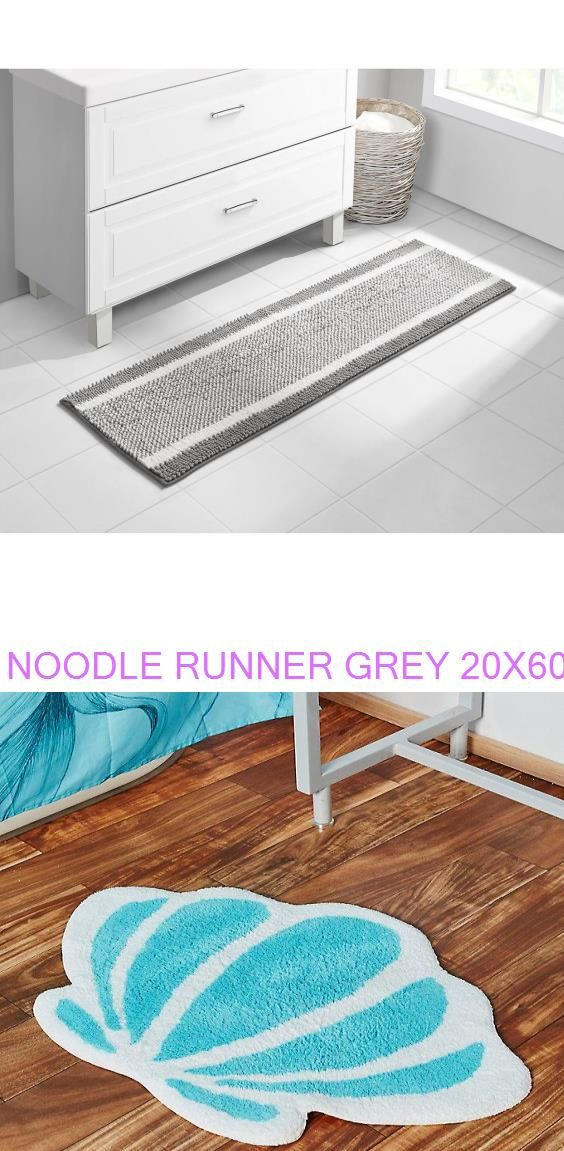 Noodle Runner Grey 20x60 Disney The Little Mermaid Seashell Bath Rug In 2020 Seashell Bath Rug Kids Rugs Bath Rug