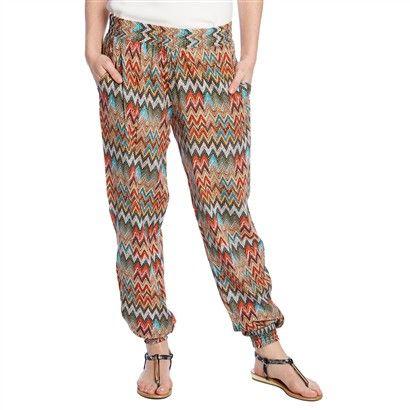 Losse broek in etnische stijl