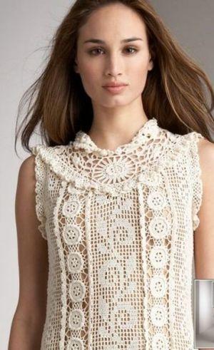 Blusa crochet by claudia.quarantalobao